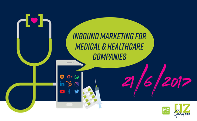 Dedicated to marketing for medical & healthcare companies. Register now to guarantee your seat!